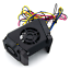 Creality-Original-Hot-End-Fan-Shroud-Cover-Part-Cooling-Fans-Assembly-CR-X-UK thumbnail 1