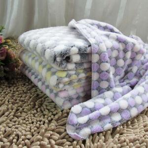 Dog-Cat-Puppy-Pet-Plush-Blanket-Mat-Warm-Sleeping-Soft-Bed-Blankets-Supplies-1PC