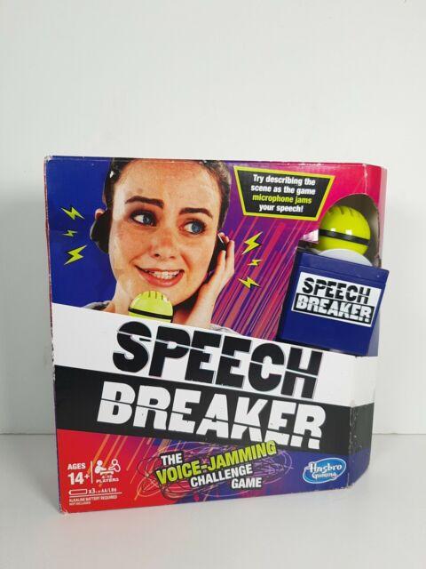 Hasbro Speech Breaker Family Game