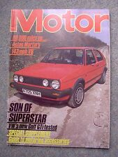 Motor (5 May 1984) VW Golf GTi, Aston V8, Porsche 911 SC/RS, Belgian Grand Prix