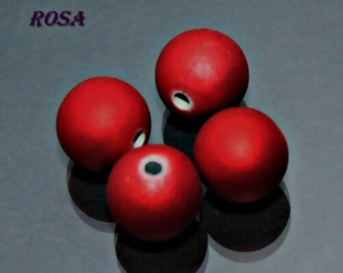 KA0072-0079 Kugeln Acrylperlen Satinkugeln 12mm 12Stück 10mm-18Stück Perlen*