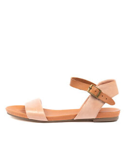 New-Django-amp-Juliette-Jinnit-Rose-Tan-Womens-Shoes-Casual-Sandals-Sandals-Flat