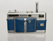 Voigtlander Vitessa Replacement Cover - Laser Cut Genuine Leather
