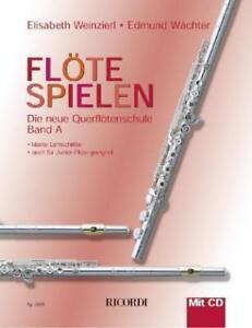 Floete-spielen-A-von-Edmund-Waechter-und-Elisabeth-Weinzierl-mit-CD