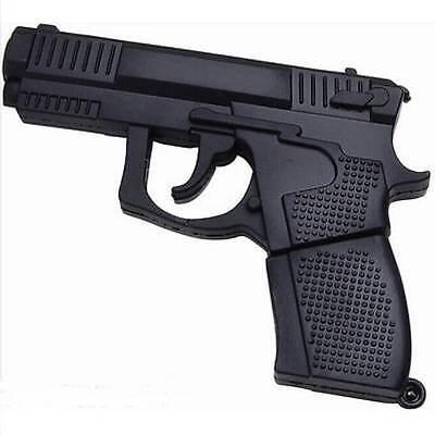 Gift Mini Pistol Gun model USB 2.0 Memory Stick Flash pen Drive 8GB/16GB/32GB