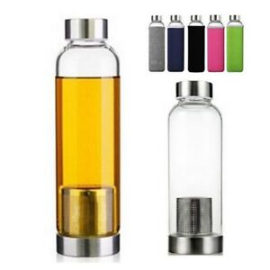 550ml-BPA-Free-Glass-Sport-Water-Bottle-with-Tea-Filter-Infuser-Protective-Bag