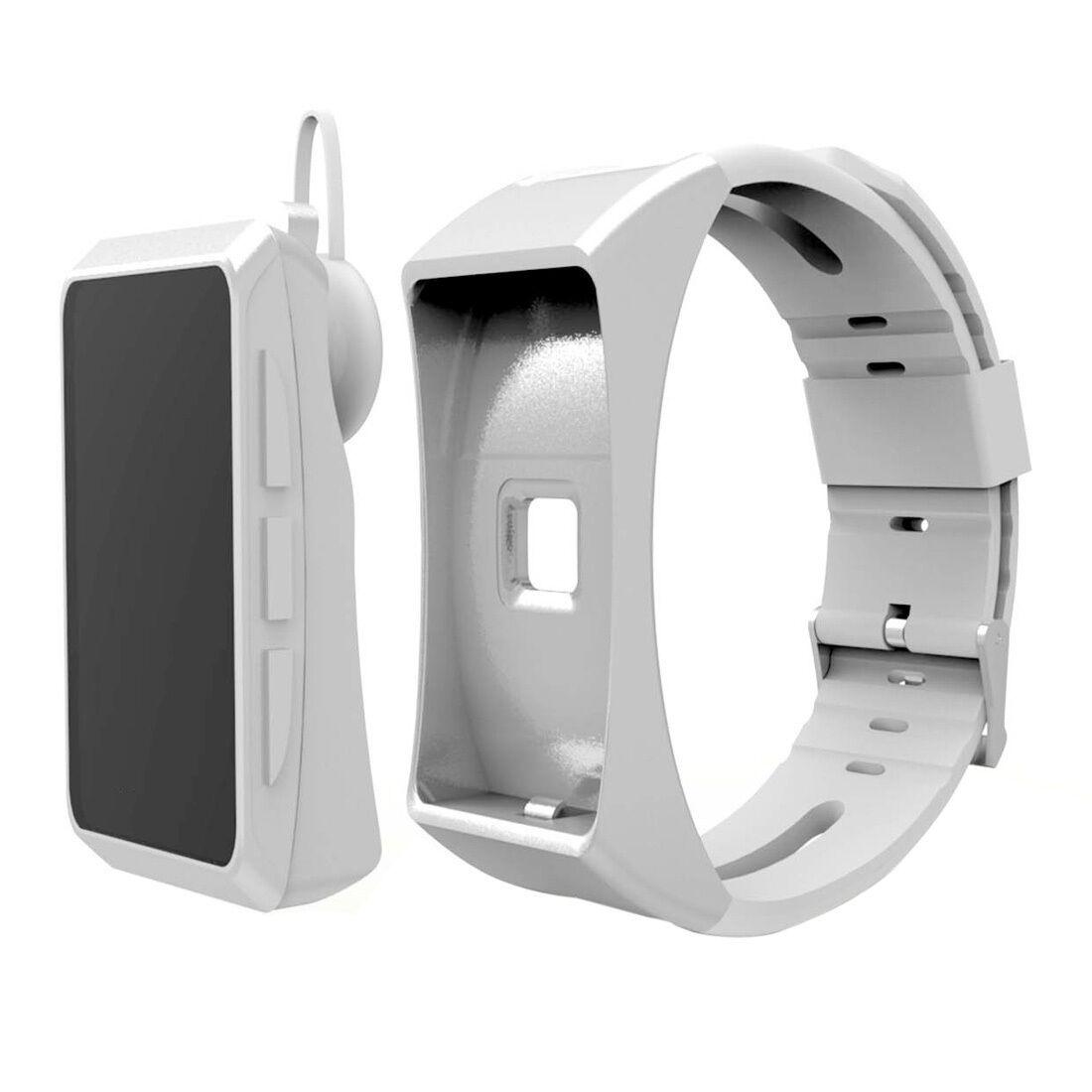 ^qh Earphones headset fitness sport smart watch blueetooth steps pulse calories