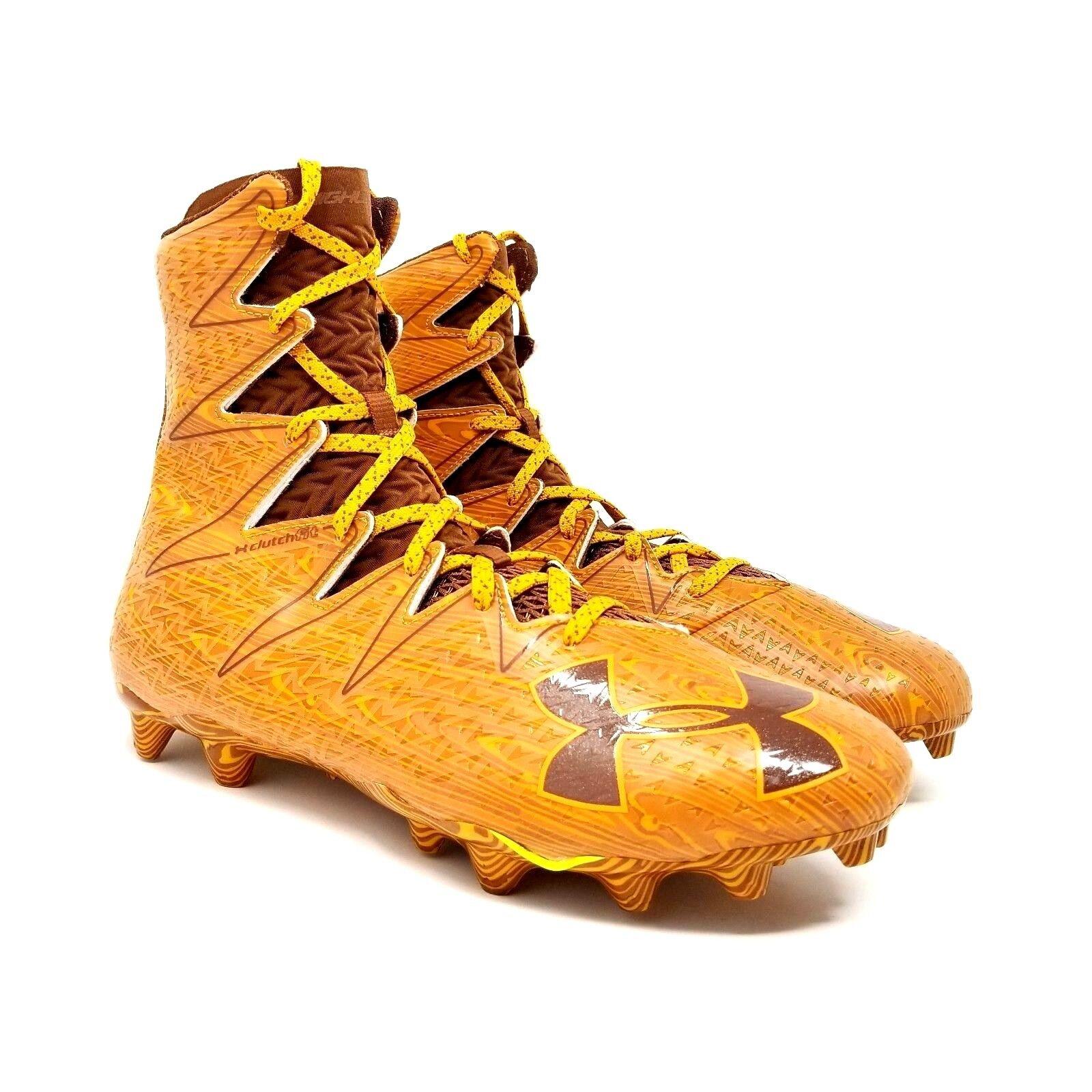 UNDER ARMOUR Uomo Highlight MC Football Wood Print Football MC Cleats Limited Ed 1275479-202 d2c641