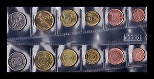 B-D-M-Mozambique-Set-6-Monedas-1-5-10-20-50-Cents-1-Meticai-2006-SC-UNC