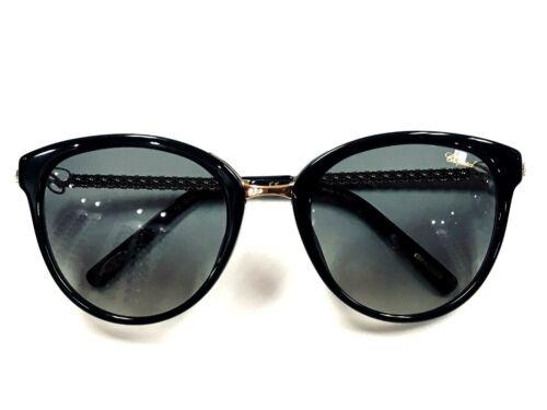 Chopard SCH213G Woman/'s Metal Frame Sunglasses 53mm Authentic