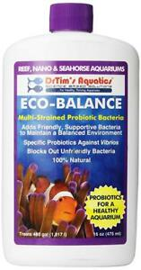 Tim's Reef Eco-balance First Defense Probiotic Bacteria Latest Technology Dr Clear-up