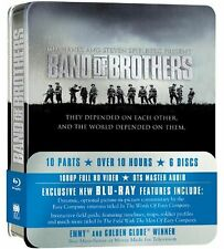 BAND OF BROTHERS Complete HBO TV Mini Series + Bonus Features Gift BoxSet Bluray