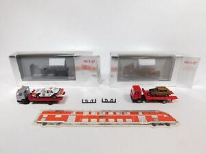 Cg542-0-5-2x-Herpa-h0-1-87-grua-mb-Mercedes-182232-AVD-etc-Neuw-embalaje-original