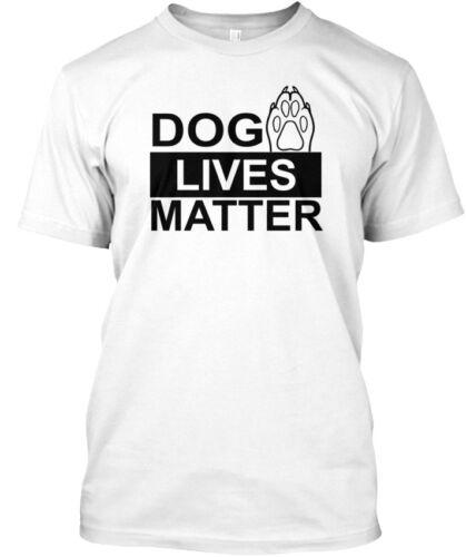 Soft Dog Lives Matter Standard Unisex T-shirt Standard Unisex T-shirt