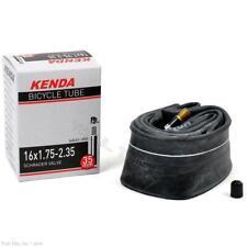 KENDA 16X1.75//2.125 A//V Schrader Valve Bicycle Inner Tube