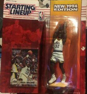 Karl Malone Utah Jazz Basketball 1994 Starting Lineup Dream Team Hall of Fame