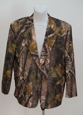 MENS OZOOM PRO HUNTING SUIT BLAZER JACKET BROWN GREEN FITTED SIZE XL XLARGE EXC