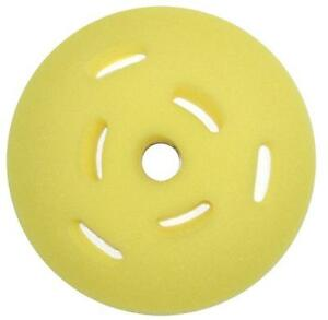 """7 Inch SM Arnold Cool-It Speedy Foam Yellow Cut Pad fits 5/"""" Backing Plate 44667"""