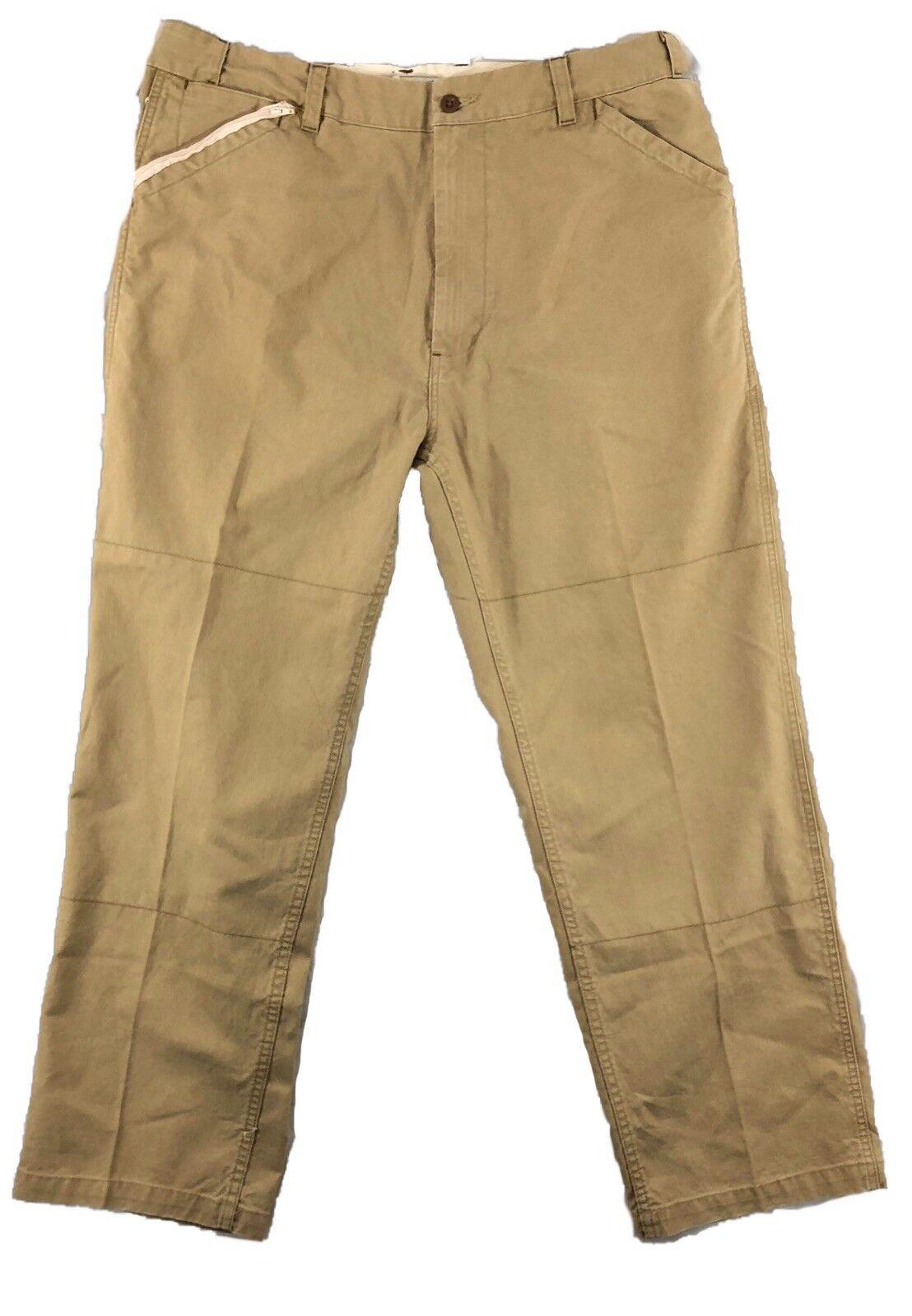 Polo Jeans Co Ralph Lauren Men's Tan Military Trouser Pants 38 30