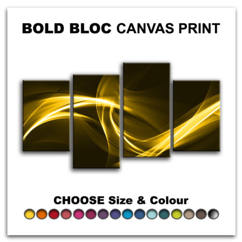 Design ABSTRACT  Canvas Art Print Box Framed Picture Wall Hanging BBD