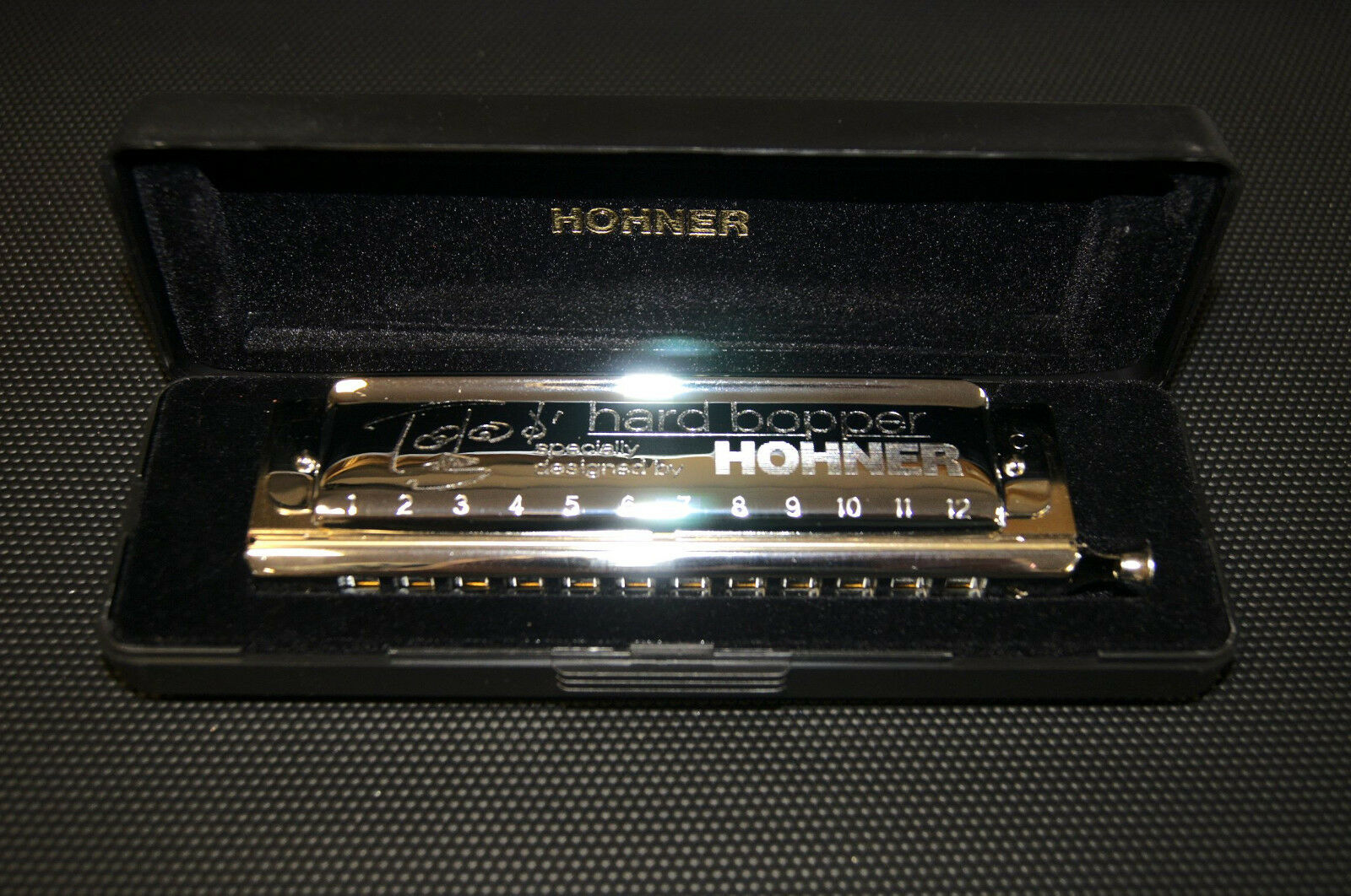 Harmonica chromatique Hohner  Toots  Thielemans Thielemans Thielemans  Hard Bopper  Do   C. Neuf. f78fd1