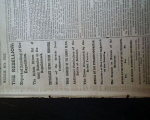 BATTLE-OF-BELMONT-MO-Mississippi-County-Missouri-1861-Civil-War-NYC-Newspaper