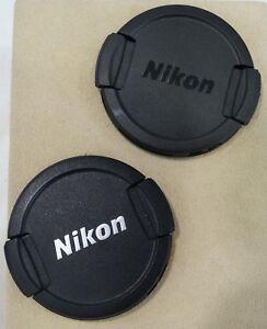 ORIGINAL-NIKON-FRONT-SNAP-ON-LENS-CAPS-VARIOUS-SIZES