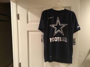 4eca7bfca NWT-NIKE-NFL Dallas Cowboys On Field Men s DRI-FIT T-Shirt Tee-Size ...