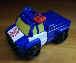 Transformers Rescue Bots Rigs Capture Claw Chase Police Car Action Figure (2016)