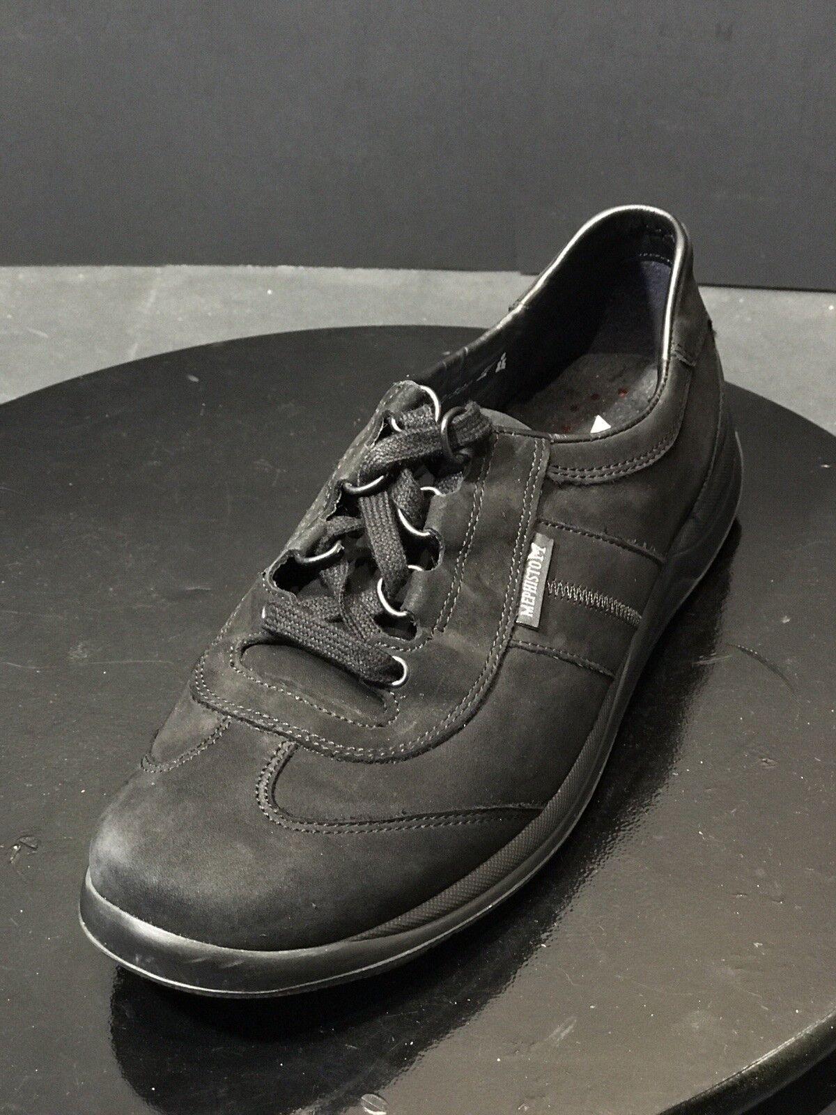prezzi più convenienti Mephisto Laser donna nero Suede Comfort Oxford Oxford Oxford scarpe da ginnastica Dimensione US 8.5 M  RTL  200  negozio online outlet
