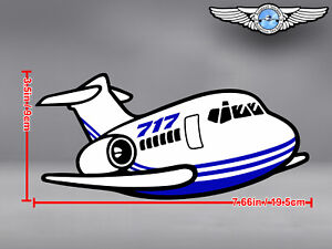 BOEING-B-717-B717-CUT-TO-SHAPE-DECAL-STICKER-7-66-x-3-5-in-19-5-x-9-cm