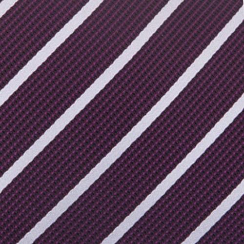 DQT Premium Rayure Simple Formal Casual Homme Mouchoir Hanky Poche Carré
