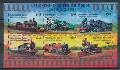 Eisenbahn Guinea Klbg.3103-8** Eisenbahn Modische Und Attraktive Pakete Briefmarken Aufrichtig 598286