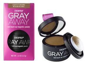 Everpro Gray Away Root Touchup Powder Light Brown Medium