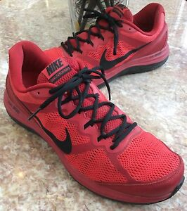 8449628f1215 Nike Dual Fusion Run 3 GYM Men s Red Black Running Shoes Size 14 ...