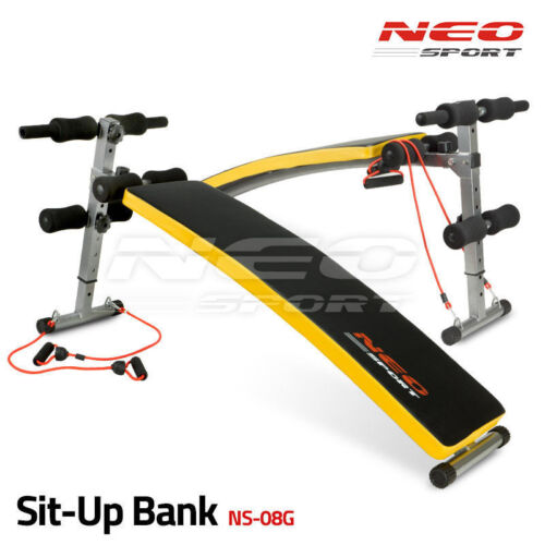Sit-Up Bank Bauchtrainer Trainingsbank Rückentrainer Bauch Fitness SitUp NS-08G