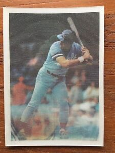 Details About 1986 Sportflics Baseball Card 5 George Brett Kansas City Royals Mint