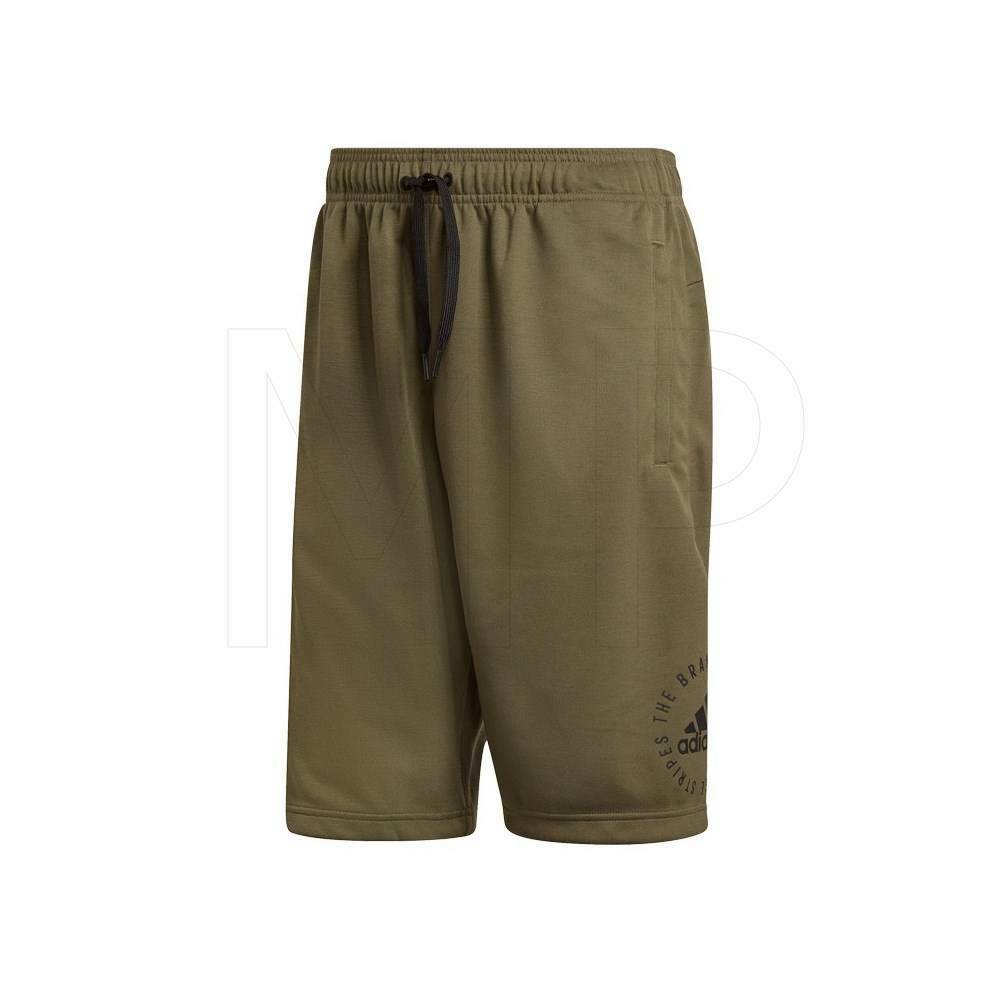 New adidas Mens Sports ID shorts Khaki Green S M L XXL Gyn Running Sports