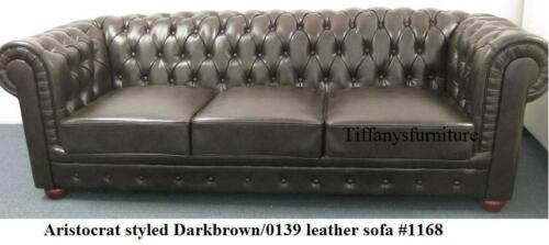 Gorgeous Aristocrat Styled Modern Leather chair #1168