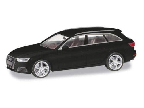 Herpa 028578-002 Audi A4 Avant H0 1:87 schwarz