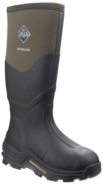 2ad8127f49b Muck BOOTS Muckmaster Mens Wellies - Moss All Sizes UK 8