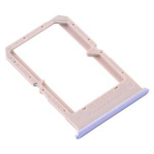 Fach Unterstützung Brieftasche Karte Dual-Sim Für OPPO A72/CPH2067 Lila