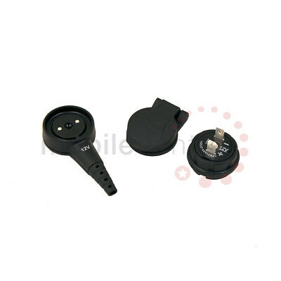 MagCode PowerClip plug PowerPort Socket and protective cover cap set 12V DC