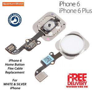 Nuevo-Completo-Boton-De-Inicio-recambio-para-iPhone-6-6-Plus-Blanco-SILVER