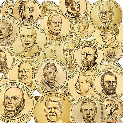2007 to 2016 Philadelphia Presidential Dollar 38 coins 9  YEARS SET BONUS