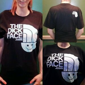 Details about Large The Dick Face Shirt Men's Women's L Black The North Face Half Dome T