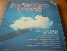 San Francisco Dreams Scott McKenzie, Byrds, Joan Baez, Beach Boys.. [LP]
