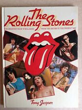 THE ROLLING STONES-THE GREATEST ROCK N ROLL BAND BOOK DATED 1984