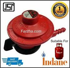 Home Cooking LPG Gas Cylinder On/Off  Regulator (ISI SAFETY) Genuine Product.