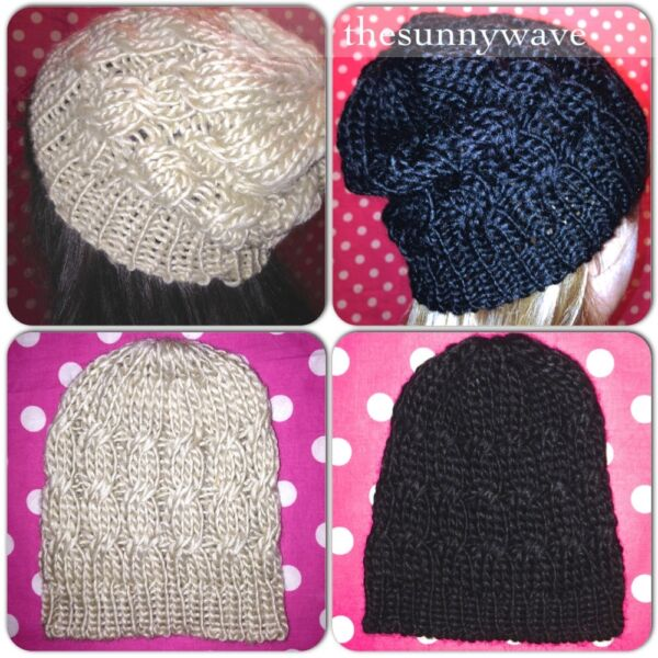 73d8e2683fea9 Women s beanie hat soft cable knit knitted ski winter toque ~ you choose